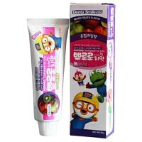 韩国正品 宝露露 小企鹅宝露露 牙膏 儿童牙膏 清洁用品(混合水果味)90g