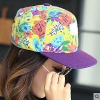 韩国平沿帽女韩版网红同款时尚户外运动新品防晒棒球帽个性嘻哈帽女潮