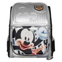 当当自营富乐梦 Disney迪士尼 小学生书包 米奇儿童减负书包 银色 CL-M0337S