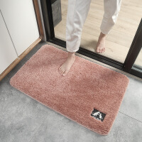 【一件3折】蛋糕绒卫生间地垫进门门口地毯门垫厨房吸水脚垫浴室防滑垫子