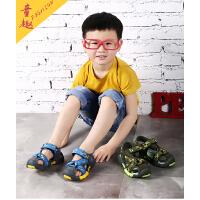 男童凉鞋中大童包头沙滩鞋儿童鞋2018新款韩版夏季小童软底