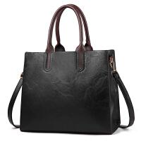 女包2018新款手提包大包时尚潮流简约单肩斜挎公文包中年女士包包SN8128
