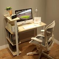 慧乐家简约现代电脑桌家用台式书柜小书桌书架组合简易办公桌写字台