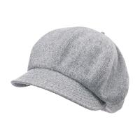 帽子女秋冬天时尚韩版贝雷帽百搭鸭舌帽时尚画家帽羊毛呢八角帽