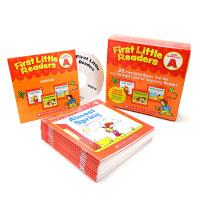 英文原版 First Little Readers A 25书+正版CD小读者系列Scholastic学乐阅读入门 3