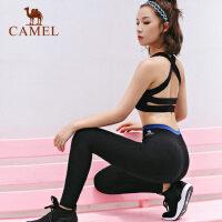 骆驼瑜伽裤 春夏运动跑步长裤健身瑜伽服束腿裤女