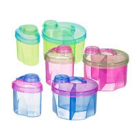 【当当自营】满趣健(munchkin) 婴儿奶粉盒组合装 宝宝奶粉格奶粉罐奶粉储存盒 外出便携装奶粉奶粉盒 密封分装盒