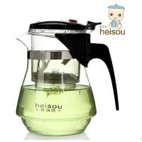 红兔子(HONGTUZI) 耐热玻璃茶具泡茶壶 功夫过滤茶具杯子泡茶壶耐热玻璃茶具过滤