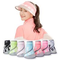 【限时秒杀】VVC新款夏季女防晒帽韩版时尚运动太阳帽防紫外线百搭遮阳帽空顶帽