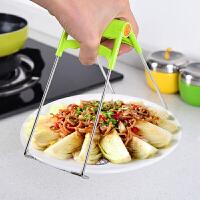 20191211232544072创意厨房用品不锈钢取碗夹 夹碗器 防烫碗碟夹提盘夹隔热夹创意厨房工具防滑夹盘子夹提碗
