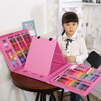 儿童画画笔绘画套装小学生水彩笔学习文具美术用品女孩生日礼物盒