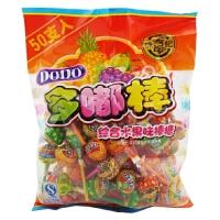 徐福记 棒棒糖DODO多嘟棒 综合水果味糖果包 475g 袋装