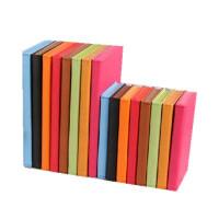 博文 创意彩色记事本 A5 学习日记本变色仿皮笔记本会议记录本661