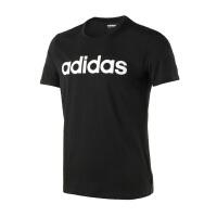 Adidas阿迪达斯 男装  2018新款 男子运动休闲圆领短袖T恤 CV9315