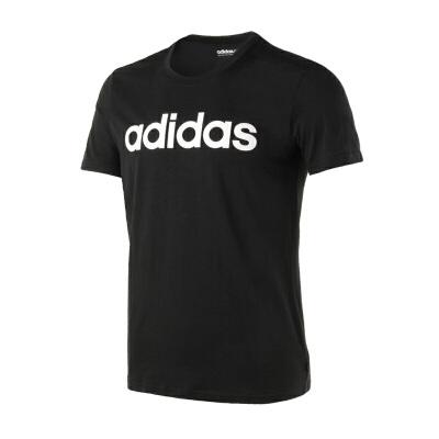 Adidas 阿迪达斯 男子运动休闲圆领短袖T恤