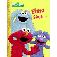 英文原版 芝麻街:阿莫说 Elmo Says...(Sesame Street)