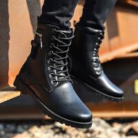 高帮马丁靴】罗兰船长 马丁靴高帮时尚潮流男靴
