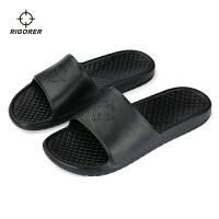 准者 新品拖鞋室内居家拖鞋外穿防滑运动时尚凉鞋凉拖 大码拖鞋