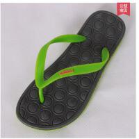 韩版新款时尚防滑耐磨按摩情侣人字拖鞋沙滩拖鞋