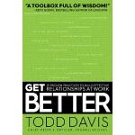 【中商原版】变得更好 英文原版 Get Better Todd Davis Simon & Schuster 自我提升