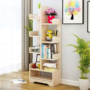 亿家达书架简约现代落地创意书房书柜置物架组合创意储物架
