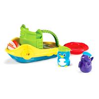 【当当自营】满趣健(munchkin)动物小拖船 儿童洗澡玩具喷水玩具 宝宝戏水玩具玩水玩具沐浴玩具