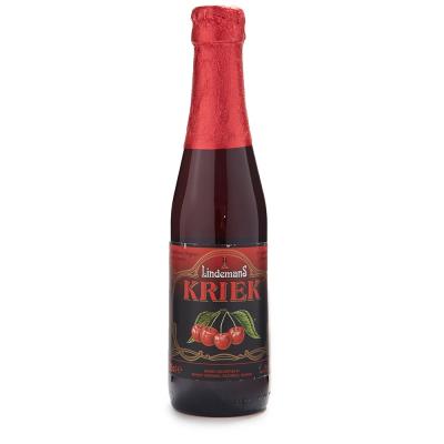 【春播】比利时林德曼樱桃啤酒250ml深受女生喜爱的果味啤酒