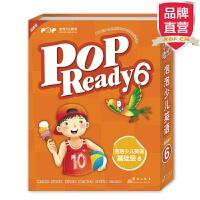[包邮]点读书新包装 泡泡少儿英语基础级6 POP Ready 【新东方专营店】