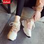 【限时特价包邮】Coolmuch女跑鞋2019新款百搭轻便耐磨防滑女子运动休闲慢跑鞋KM1096