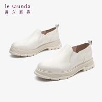 莱尔斯丹 时尚简约休闲圆头松糕厚底鞋LS AT47701
