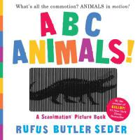 ABC Animals!: A Scanimation Picture Book 动物ABC 动画效果翻翻书