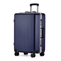 拉杆箱万向轮铝框旅行箱男女通用摔20寸22寸24寸26寸学生行李箱