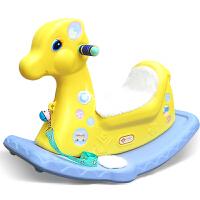 宝宝摇椅马塑料音乐婴儿摇摇马大号加厚儿童玩具周岁礼物小木马车