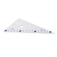 藤井(Raymay)APJ209 12cm三角尺套装.蓝色.2把/套当当自营