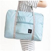 手提旅行包拉杆包行李袋旅行收纳袋大容量短途单肩包女防水折叠袋