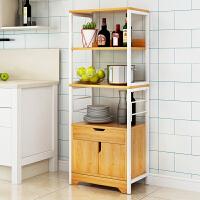 亿家达 微波炉架 烤箱架 厨房置物架调味品隔板架多功能自由组装置物架子