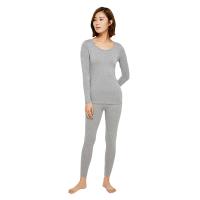 网易严选 女式咖啡碳+5℃保暖内衣套装/单件