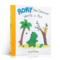 【中商原版】恐龙罗里想要一只宠物英文原版rory the dinosaur wants a pe
