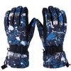 征伐 滑雪手套 冬季成人防风防水滑雪手套户外登山骑行男女防寒加厚保暖手套