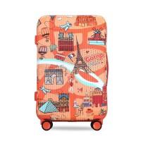 拉杆箱女小清新行李箱卡通涂鸦浮游记20寸韩版旅行箱24寸个性潮