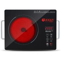 好妻子 电陶炉 红外电热炉2000W 光波炉 适用所有锅具三环加热炉电陶炉 不挑锅具