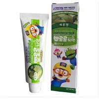 韩国正品 宝露露 小企鹅宝露露 牙膏 儿童牙膏 清洁用品(哈密瓜味)90g