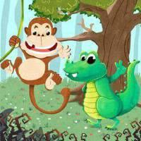 小嘴鳄鱼和大嘴猴子3
