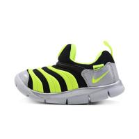 【4折价:159.6元】耐克(Nike)童鞋 毛毛虫儿童鞋 舒适运动休闲鞋CI1186-081 黑/荧光黄/白金色/金属