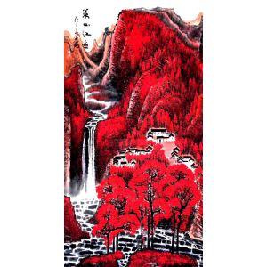 中国青年美术家协会常务理事,中国山水画院专业画家,国家一级美术师高云鹏(万山红遍)