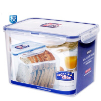 乐扣乐扣塑料保鲜盒3.9L大容量食品冰箱密封收纳盒玩具收纳HPL829
