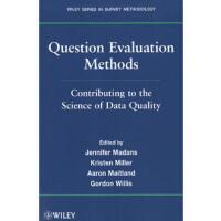 【预订】Question Evaluation Methods: Contributing to the Science