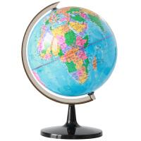 得力文具 地球仪 32cm 完整 高清 地图 标准教学 中英文3035
