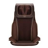 家用按摩椅垫 颈椎 多功能颈部背部腰部按摩坐垫 棕色