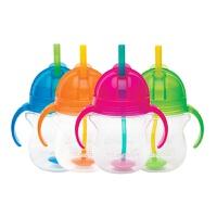 【当当自营】满趣健(munchkin)幼儿7盎司Click Lock翻斗杯 重力杯吸管杯 儿童学饮杯训练杯 婴幼儿喝水